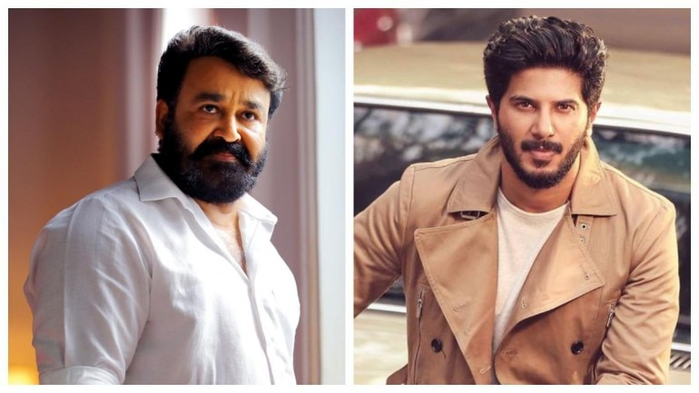 Mohanlal and Dulquer Salmaan