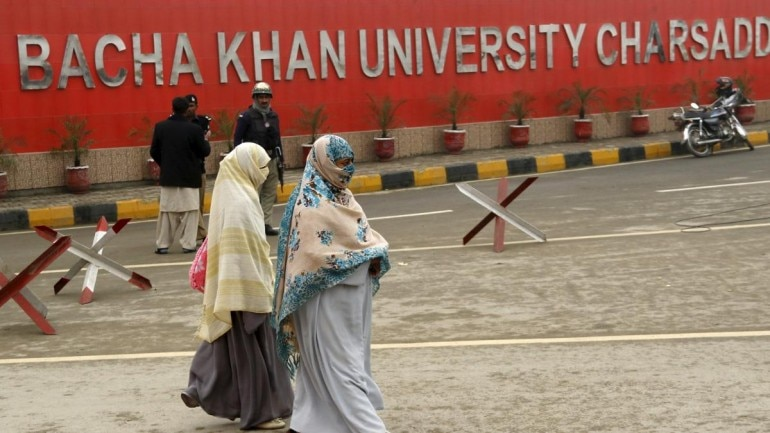 Bacha Khan University puts a ban on male and female students roaming together Photo: Reuters