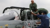 Thrilling: Rajnath Singh becomes first defence minister to fly in light combat aircraft Tejas