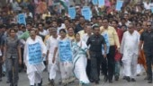 Won't be able to shut Bengal's mouth: Didi leads protest march against NRC