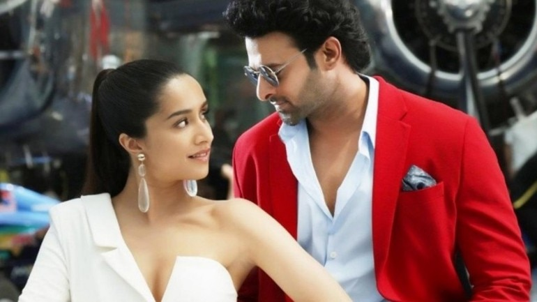 Shraddha Kapoor and Prabhas in Saaho