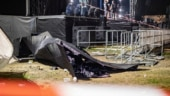 Giant screen crashes on fans at Marteria and Casper live concert in Germany, 30 injured