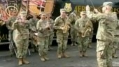 US Army band plays Jana Gana Mana for Indian soldiers during joint exercise | Watch