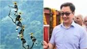 Kiren Rijiju says welcome to Arunachal Pradesh with pic from West Bengal. Twitter fact-checks it