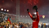 Singapore GP: Sebastian Vettel ends title drought to give Ferrari 3rd straight win