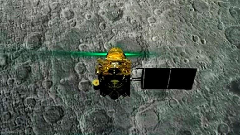 chandrayaan 2 isro vikram lander