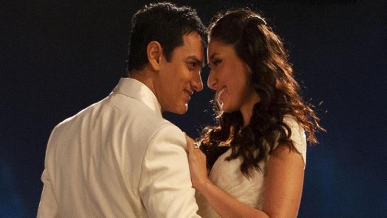 Aamir Khan and Kareena Kapoor in a still from 3 Idiots