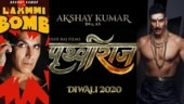 Prithviraj on Diwali to Laxmmi Bomb on Eid: 2020 is Akshay Kumar's year