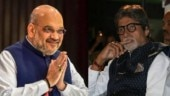 Amit Shah congratulates Amitabh Bachchan for Dada Saheb Phalke Award. Big B expresses gratitude