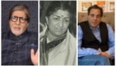 Amitabh Bachchan and Dharmendra have special birthday videos for Lata Mangeshkar. Watch here