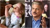 Anand Mahindra shares heartwarming video of disabled kid eating with feet: Couldn't stop tears