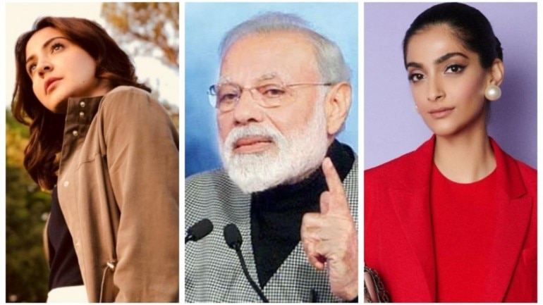 PM Narendra Modi thanked Bollywood celebrities for encouraging Isro