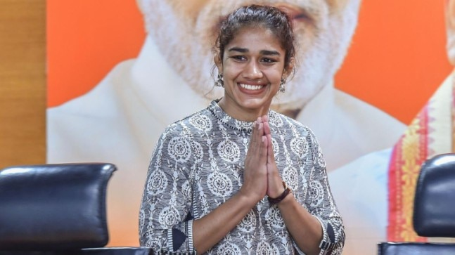 Wrestler Babita Phogat quits as inspector, to contest in Haryana polls on BJP ticket