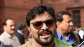 Babul Supriyo heckled by protesting students, Guv rushes to Jadavpur University