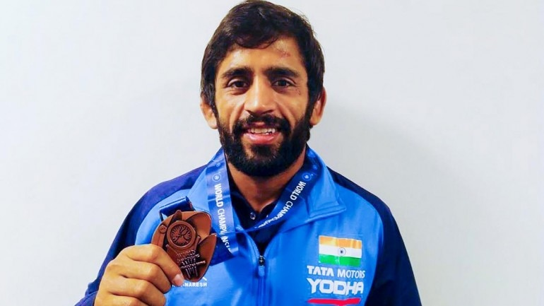 Bajrang Punia had headed into Nur-Sultan Wrestling World Championships with as the overwhelming favourite (IANS Photo)