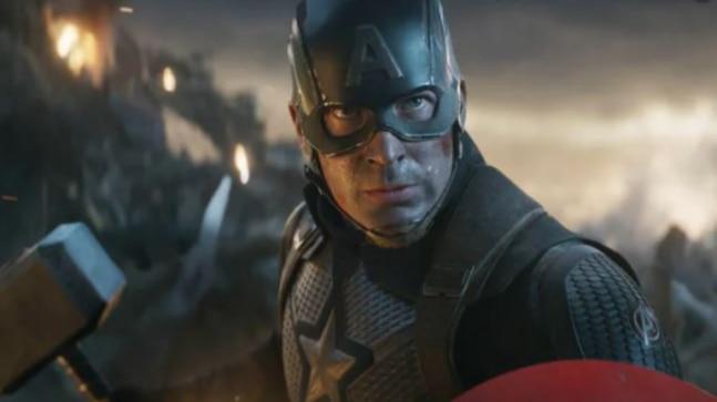 Captain America And Peggy Scene Endgame