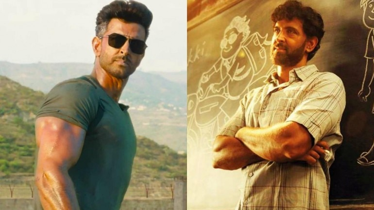Hrithik Roshan's body transformation from Super 30 to War