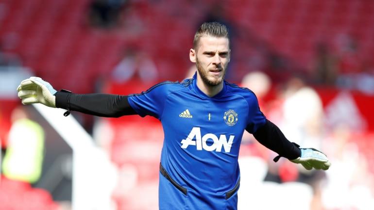 best website 29ebc f92ad Manchester United's David de Gea signs new long-term deal ...