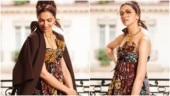 Deepika Padukone goes Frida Kahlo in chic strapless gown at Paris Fashion Week 2019. See pics