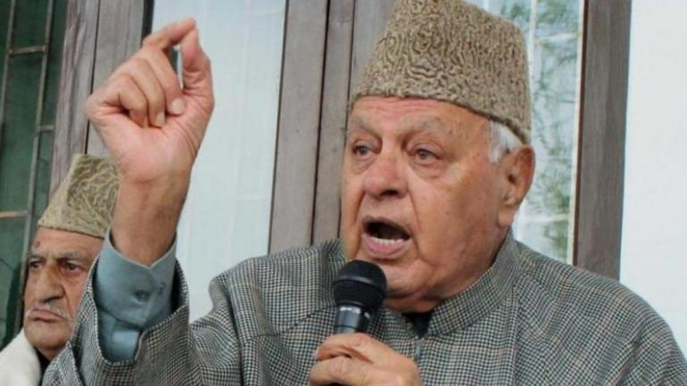 Former J&K CM Farooq Abdullah booked under Public Safety Act