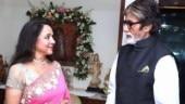 Hema Malini congratulates Amitabh Bachchan on Dada Saheb Phalke: He is an institution in himself