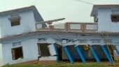 Watch: House collapses in seconds after heavy rainfall in UP's Ballia