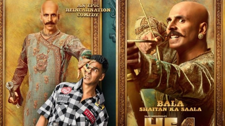 Akshay Kumar took to social media to release the first posters of Housefull 4.