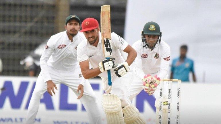 Only Test: Zadran, Afghan fifties help Afghanistan stretch