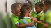 Toddler survives Hurricane Dorian. Friends give him a crazy welcome at school. Viral video