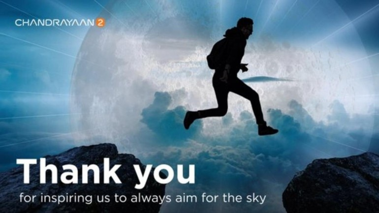 ISRO tweeted a thank for all the support it received from Vikram Lander