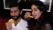 Janhvi Kapoor parties with friends in New York. See pics