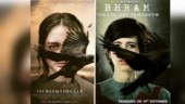 Is the poster of Kalki Koechlin's web series Bhram copied from The Nightingale?