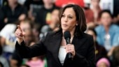 Kamala Harris apologises for laughing after Indian man calls Trump's actions mentally retarded
