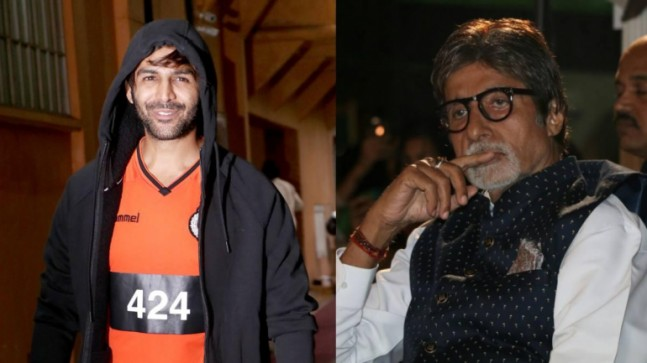 Kartik Aaryan shoots with Amitabh Bachchan for an ad, crosses off wish from bucket list