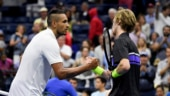 US Open: Nick Kyrgios sent packing as Andrey Rublev reaches last 16