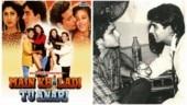 Trending now: Akshay Kumar and Saif Ali Khan's pic from Main Khiladi Tu Anari set