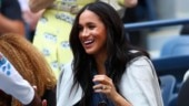 New mommy Meghan Markle jumps and cheers for BFF Serena Williams at US Open. Watch video