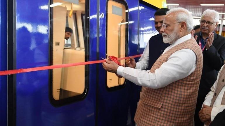 PM Modi Mumbai metro