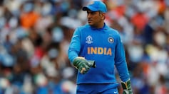 MS Dhoni hasn't played for India since the World Cup 2019 semi-final
