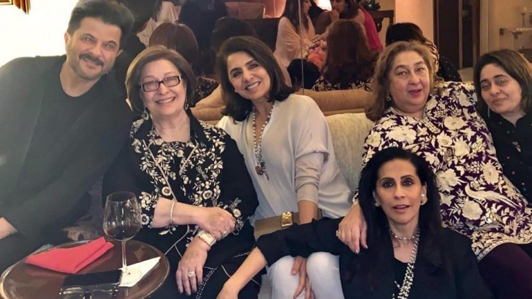 Neetu Kapoor parties with Anil and Sunita Kapoor: Normalcy setting in