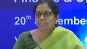 Finance Minister Nirmala Sitharaman cuts corporate taxes for domestic, new manufacturing companies