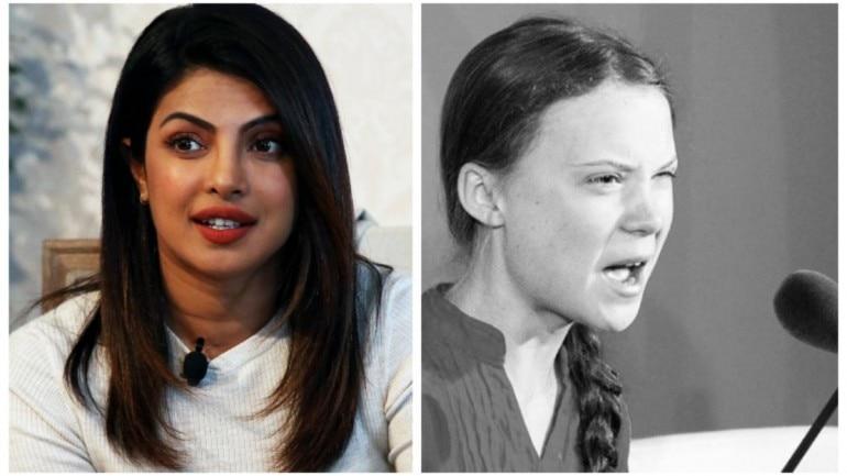 Priyanka Chopra reacts to Greta Thunberg's UN speech