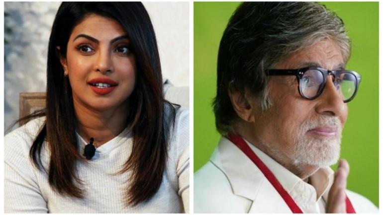 Priyanka Chopra on Amitabh Bachchan being named for Dada Saheb Phalke award