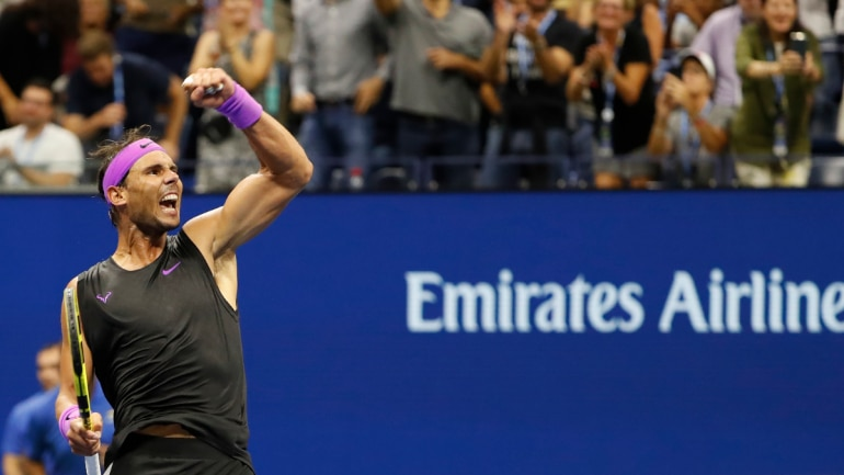 Image result for nadal cilic us open 2019