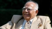 Best mind in criminal law Ram Jethmalani represented all- politicians, businessmen, Bollywood biggies & dons