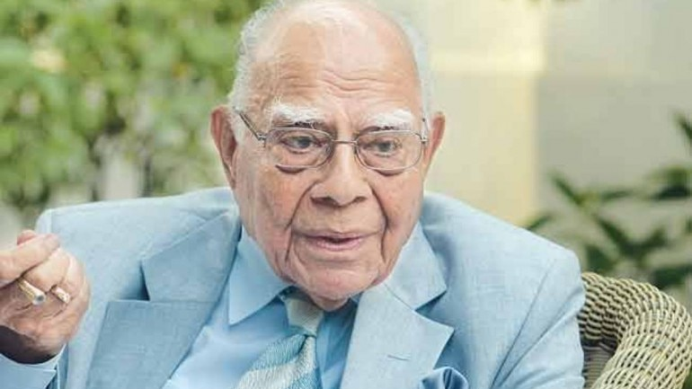 Veteran lawyer and former Union Minister Ram Jethmalani died at 95