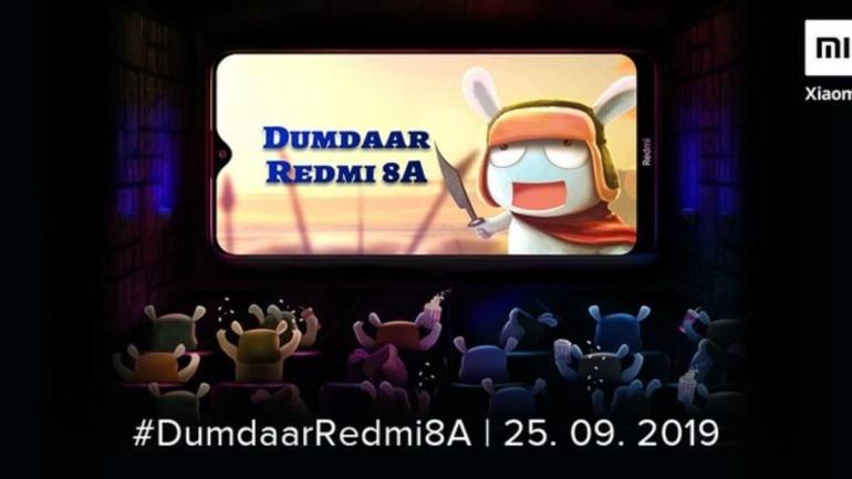 New Redmi 8A Smart Desh Ka Dumdaar Smartphone | Coming up on 25 Sept