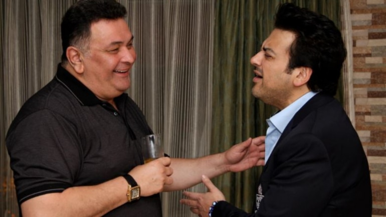 Rishi Kapoor and Adnan Sami