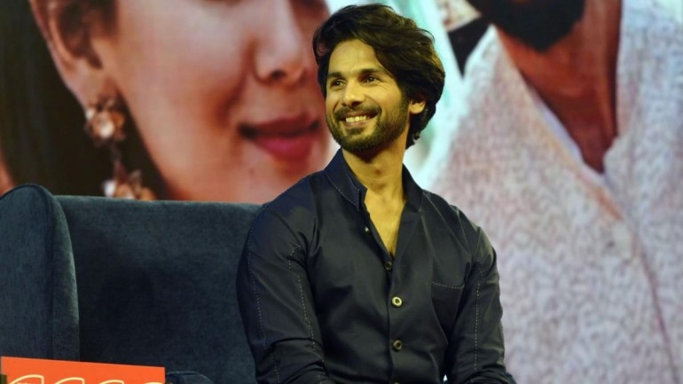 Shahid Kapoor at the India Today Conclave Mumbai 2019
