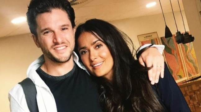 Salma Hayek's fangirl moment with Kit Harington: Can't believe I am working with Jon Snow
